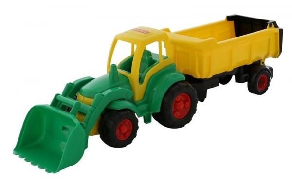 Mistrz Traktor z łyżką i naczepą (0438)