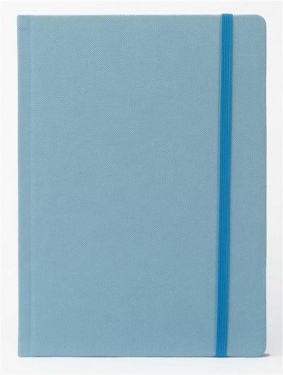 Notatnik A5 Pro M+ kropki jasnoniebieski