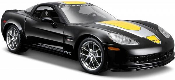 Model kompozytowy Chevrolet Corvette Z06 GT1 czarny 1/24 (10131203/2)