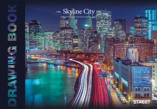 Blok Rysunkowy Skyline Street