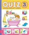 Quiz 3-latka Edukacyjna książeczka z naklejkami
