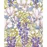 Karnet 17x14cm z kopertą Magnolia Wallpaper