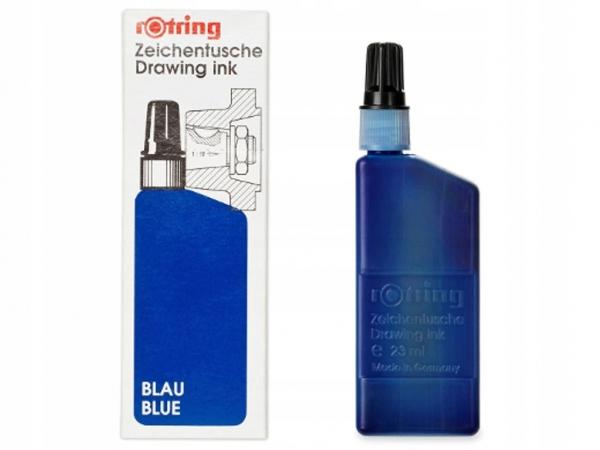 Tusz kreślarski Rotring niebieski 23 ml (S0216280)