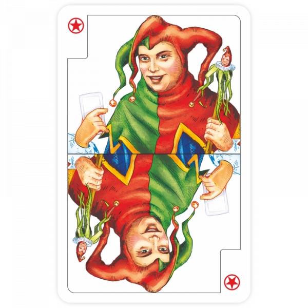 Klasyczne karty do gry Kukuryku 54