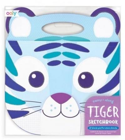 Szkicownik podróżny Tygrys