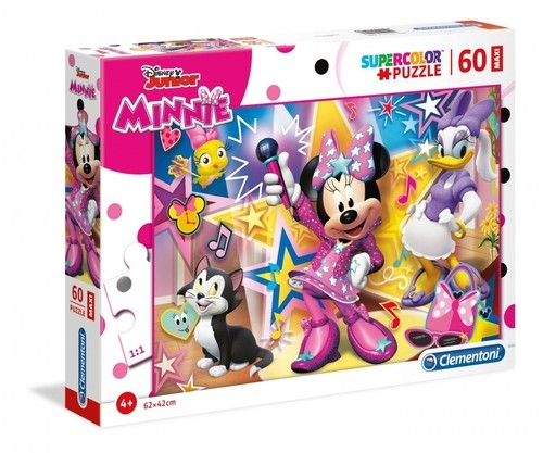 Puzzle 60 Maxi SuperColor  Minnie Happy Helpers (26443)
