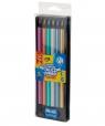 Kredki ołówkowe trójkątne jumbo - metaliczne 6 kolorów (312118007)