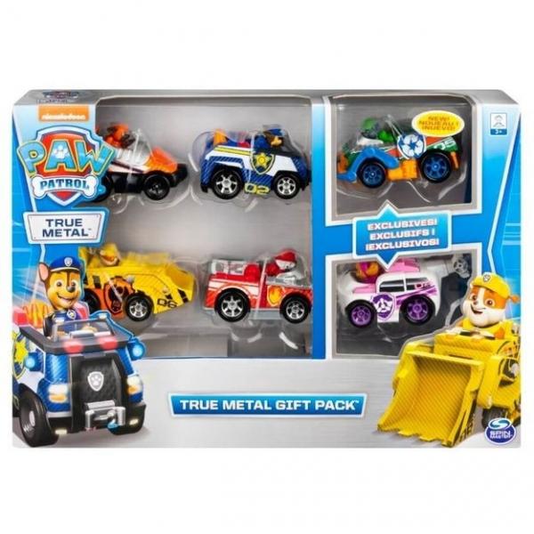 Zestaw pojazdów Psi Patrol True Metal - 6 samochodów (6058350)