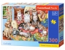 Puzzle 300: Cat family Wiek: 8+