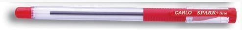 Długopis Carlo 0,7mm czerwony (12szt) SPARK