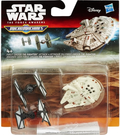 Star Wars micro machines - first order the fighter B3503 .