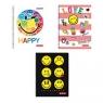 Brulion A4/70 kartkowy na spirali SmileyWorld mix