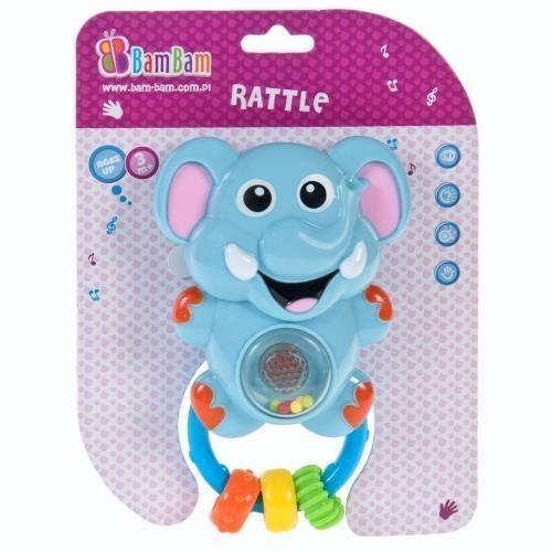 Grzechotka muzyczna słoń BAM BAM