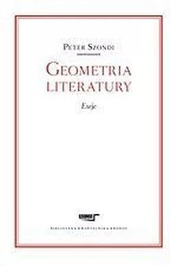 Geometria literatury Szondi Peter