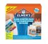 Elmer's zestaw startowy Slime, klej przezroczysty, kleje brokatowe w pisakach i Magiczny Płyn do Slime - 8 elementów (2050943)