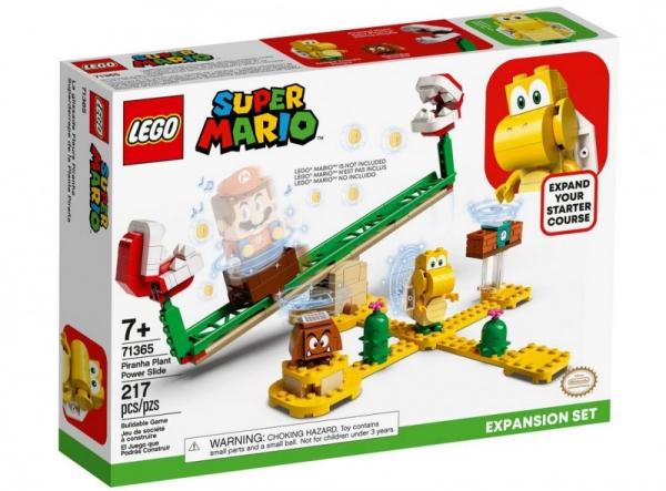 Klocki Super Mario Megazjeżdżalnia Piranha Plant (71365)