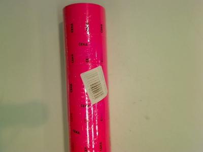 Etykieta cena typ A różowa 5szt
