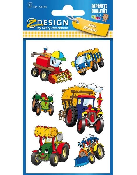 Naklejki dla dzieci - Traktory (53144)