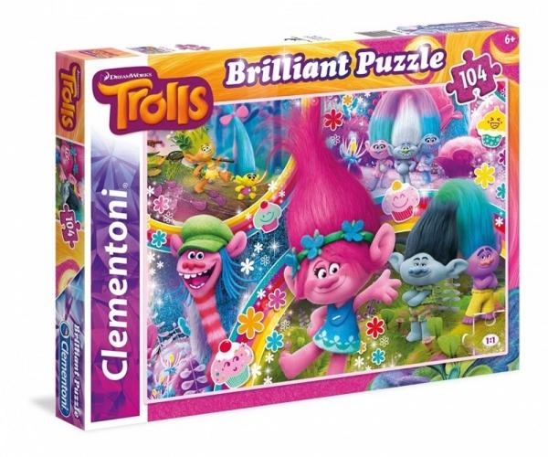 Puzzle Brilliant 104 Trolls (20144)