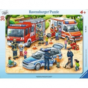 Puzzle ramkowe 30: Zawody (6144) Wiek: 4+