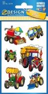 Naklejki papierowe. Traktory (53144)