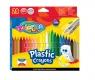 Kredki plastikowe wymazywalne 24 kolorów (92029PTR)