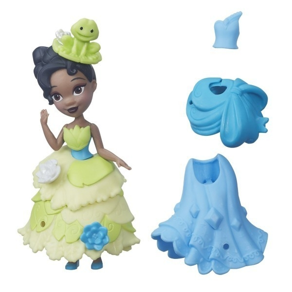 Disney Princess Mini Laleczka z sukienką Tiana