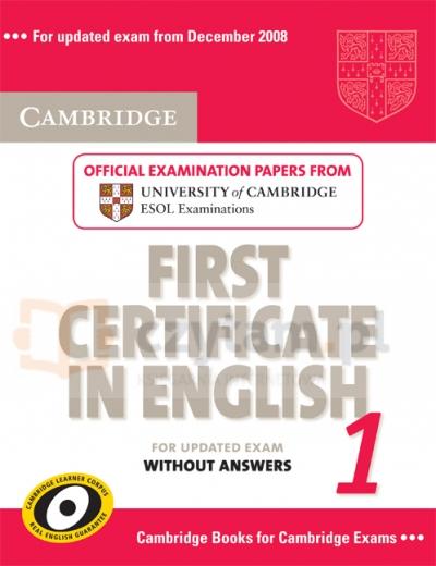Camb FC 1 updated exam SB Cambridge ESOL