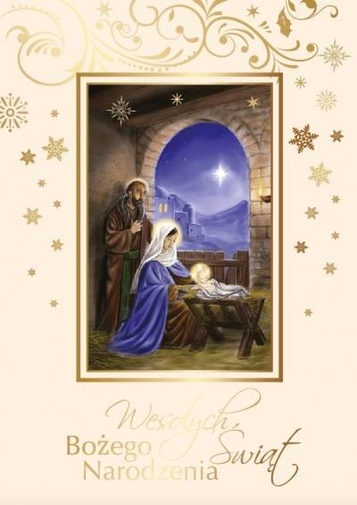 Karnet Boże Narodzenie AP-07 praca zbiorowa
