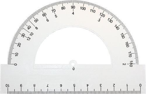 Kątomierz Grand 10 cm/180° (216878)