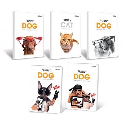 Zeszyty Top 2000  A5/32k. kratka Funny Animals