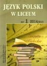 Język Polski w Liceum nr 1 2014/2015