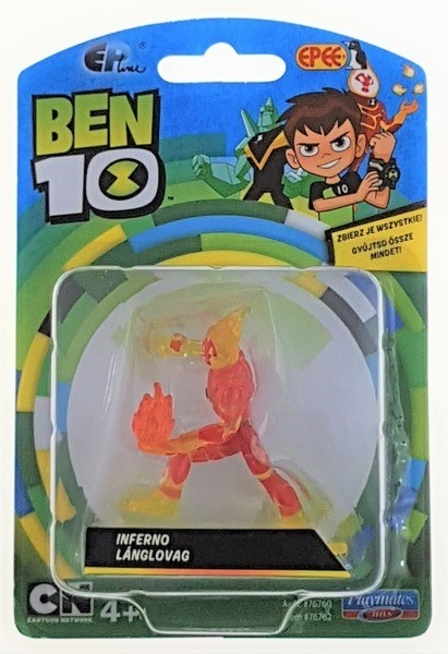 Ben 10: Minifigurka na blistrze - Inferno (PBT76760B)