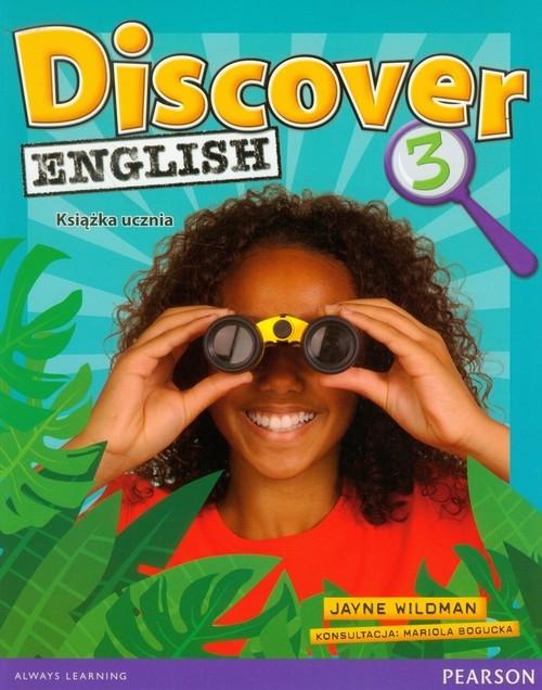 Discover English 3 Książka ucznia (Uszkodzona okładka) Wildman Jayne