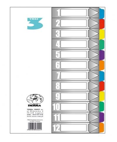 Przekładka TRES laminowana max 12 kolorów