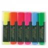 Zakreślacz 6 kolorów w etui plastikowym (154806)