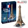 Puzzle 3D: Wieża Eiffela (C044h)