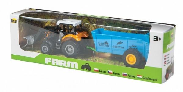 Mała Farma, Traktor z przyczepą (02244)