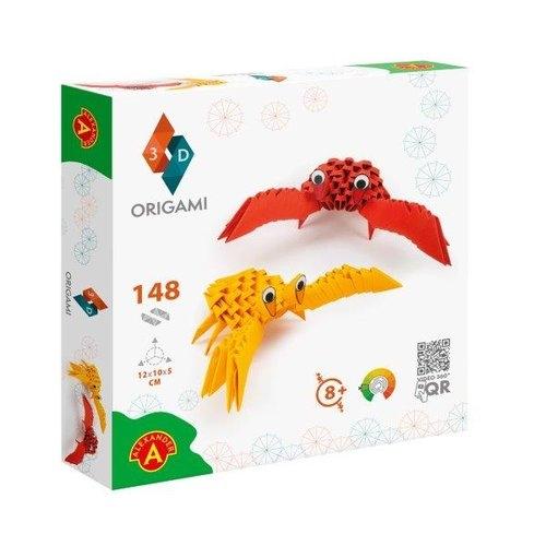 Origami 3D Kraby