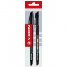 Długopis Exam grade czarny 2 sztuki