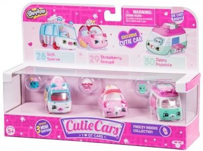 Shopkins Cutie car S1 3 pak MIX ((SCC56611))