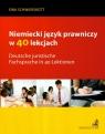 Niemiecki język prawniczy w 40 lekcjach Schwierskott Ewa