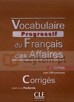 Vocabulaire progressif des Affaires klucz 2 edycja Penfornis Jean-Luc