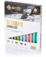 Długopis automatyczny Zenith 7 pastel 10 sztuk mix