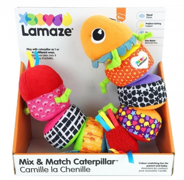 Lamaze: gąsienica Mix and Match LC27244 (100574)