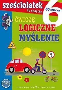 Sześciolatek na szóstkę Ćwiczę logiczne myślenie Cholewińska-Szkolik Aniela