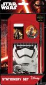 Zestaw Szkolny 5 elementów z notesem Star Wars