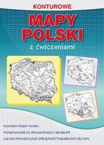 Konturowe mapy Polski z ćwiczeniami Tomczyk Karol