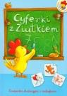 Cyferki z Ziutkiem Książeczka edukacyjna z naklejkami Horosin Anna, Filuciak Urszula
