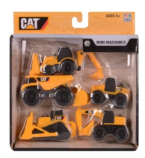 CAT Mini Machines pięciopak